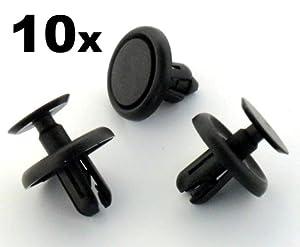 auto trim clips 90467 07201 trim clips 10 pieces car motorbike. Black Bedroom Furniture Sets. Home Design Ideas