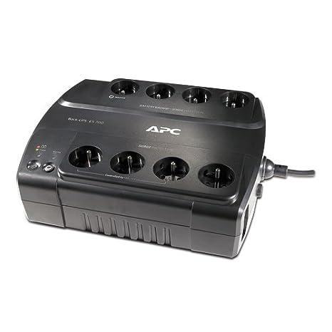Ondulateur Back-UPS APC BACK UPS BE700GFR NOIR 700VA