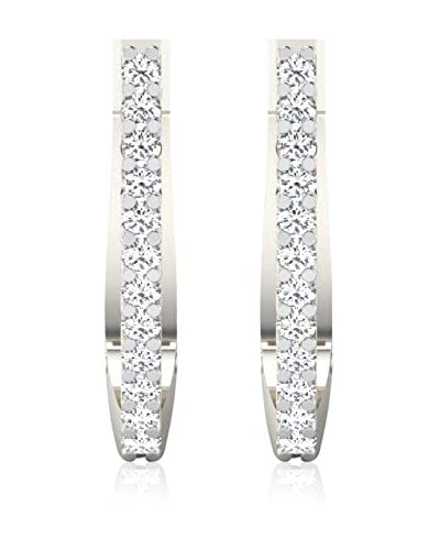 Friendly Diamonds Pendientes FDT11516W Oro Blanco