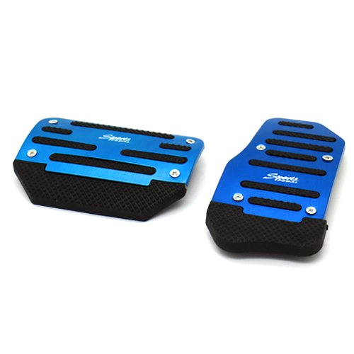 Stanniz(TM) Sport Racing Style Non Slip Car Foot Pedal Cover Kit for A/T Automatic Transmission - Blue (Automatic Transmission Pedals compare prices)