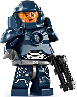 Lego Minifigures Series 7 - Galaxy Patrol