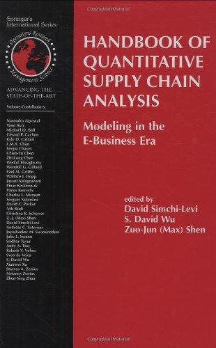 Handbook of Quantitative Supply Chain Analysis:
