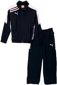 PUMA Trainingsanzug Esito Woven Suit black-white, Größe Puma:116