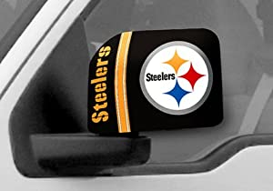 FANMATS NFL Pittsburgh Steelers Mirror Cover at SteelerMania