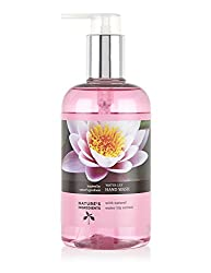 M&S Natures Ingredients Water Lily Hand Wash 300 ml