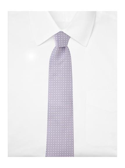 Aquascutum Men's Micro Flower Silk Tie