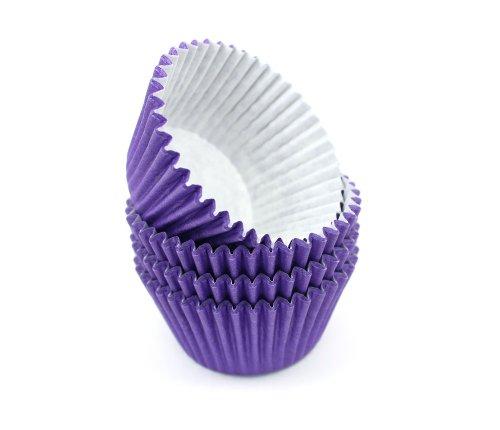 Turtle Products - Papel para magdalenas, color púrpura