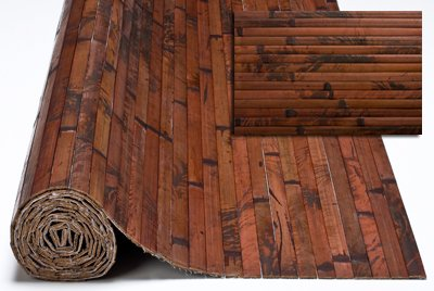 4' x 8' Bamboo Paneling Dark Chocolate