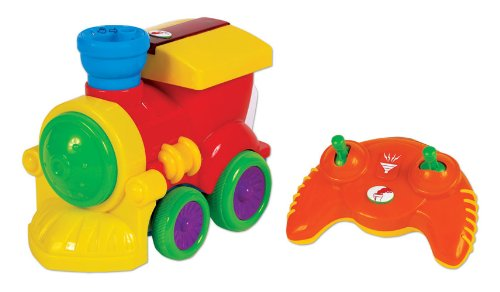 Small World Toys Preschool - Chug Along Steam Train R/C