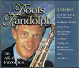 Boots Randolph 36 All-Time Favorites 3-CD music set