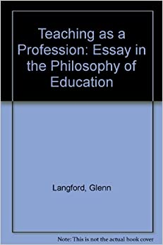 essays teaching profession