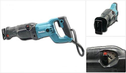 MAKITA JR 3060 T 1250 W Säbelsäge Reciprosäge + Transport Koffer + Makita 3er Pack Sägeblätter