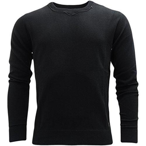 Replay -  Maglione  -  Felpa  - Basic - Maniche lunghe  - Uomo nero Large
