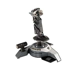 Cyborg F.L.Y.5 Flight Stick Joystick filaire pour PC Double manette des gaz Gachette 5 boutons Noir