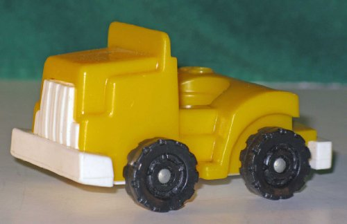 Fisher Price Little People Vintage Yellow Truck For Trailer - 1