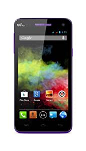 Wiko Rainbow Smartphone Bluetooth Android 4 Go Violet