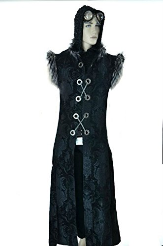 Shrine-Gothic-Warrior-Fantasy-Steampunk-Vintage-Vampire-Long-Coat