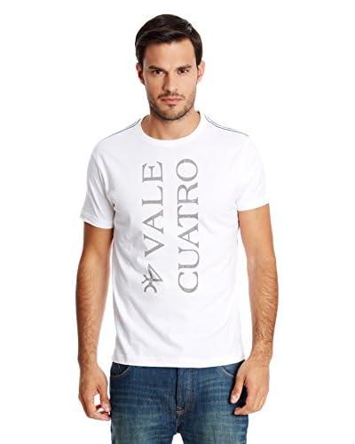 Valecuatro T-Shirt Manica Corta [Bianco]