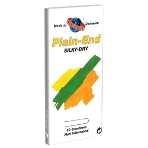 plain end condoms