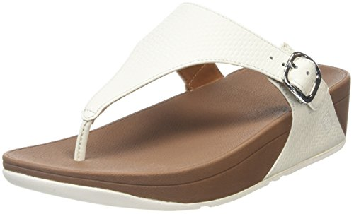 Fitflop Donna The Skinny Tm Urban Infradito  bianco Size: 40
