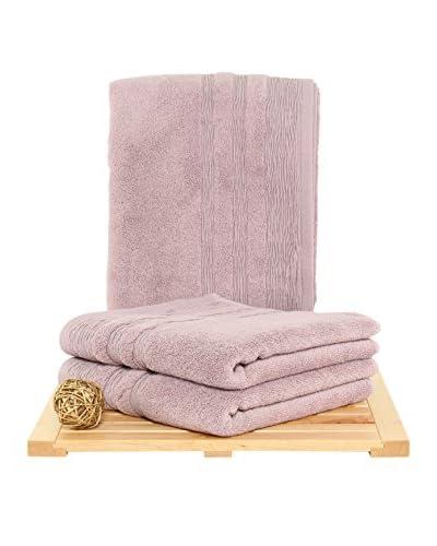 Maisonette Hidrophile 3-Piece Hand Towel Set, Grape