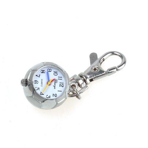 Bestdealusa Alloy Football Key Ring Pendant Watch Pocket Quzrtz Movement Watch