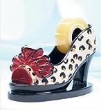 Fashion Desk Staple: Leopard Print High Heel Tape Dispenser