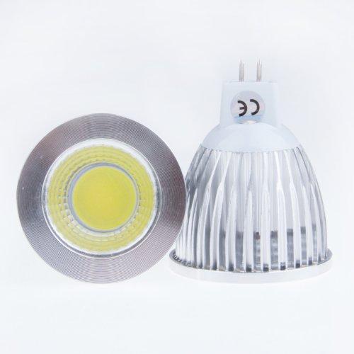 Lemonbest® 9W Cool White High Power Cob Led Mr16 Spot Light Downlight 60 Degree Floodlight Lamp 12 Volt
