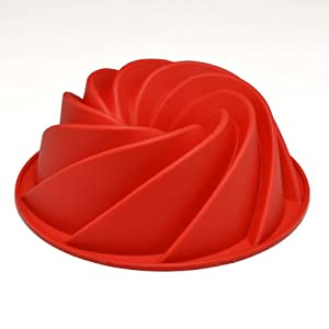 Sorbus® Silicone Bundt Pan - Spiral by Sorbus�