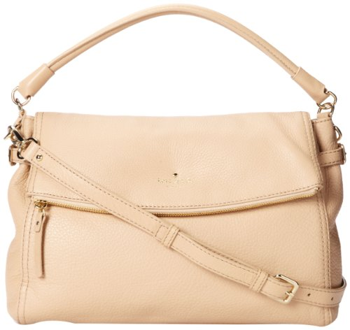 Kate Spade New York Cobble Hill Little Minka Satchel Handbag,Affogato,One Size