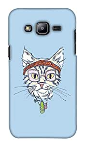 Print Haat Back Case Cover for Samsung Galaxy J2 (Multicolor)