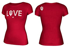 Buy adidas Indiana Hoosiers Ladies Faded Love T-Shirt by adidas