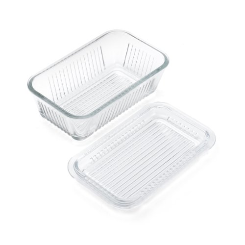 Gemco Multi Function Butter Dish (Cheese Dish Glass compare prices)