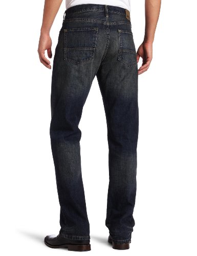 Nautica Jeans Men's Relaxed Cross Hatch Jean, Rigger Blue