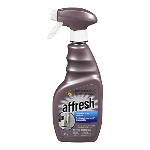 Whirlpool Affresh Stainless Steel Cleaner, 16-Ounce (Purple)