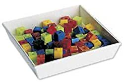 School Specialty Centimeter/Gram Cubes, Assorted Colors (Pack of 100)