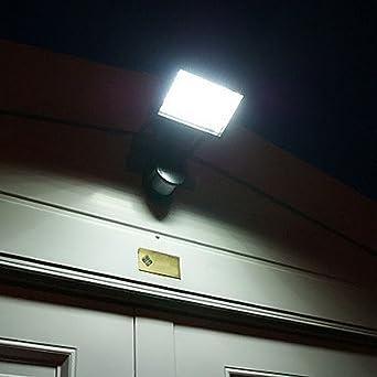 Contemporary Solar Wall Lights : Modern PIR Motion Sensor Solar LED Wall Light Garden Lights - - Amazon.com