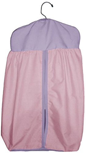 Baby Doll Reversible Diaper Stacker, Pink/Lavander back-820478