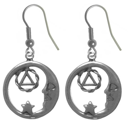 Alcoholics Anonymous Symbol Earrings #706-6, 11/16