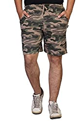Clifton Mens Cotton Shorts (AAA00010205-05_Walnut_Large)