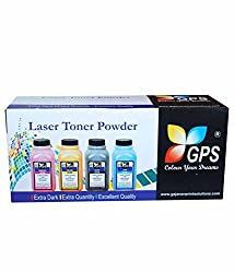 Gps Refill Toner Powder For Brother All Universal Toner Powder 80gms Pack Of 10pcs.