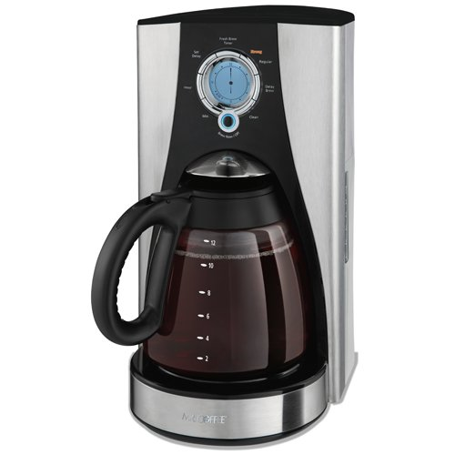 Mr. Coffee LMX43GTF 12-Cup Programmable Coffeemaker,
