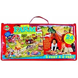 SHURE ON THE FARM FLOOR PUZZLE