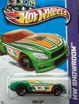 2013 Hot Wheels Hw Showroom Scavenger Hunt [3/6] - Pony Up