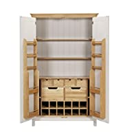 Padstow Large 2-Door Larder Unit