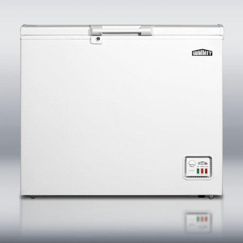 Summit CF07ES 38 6.4 cu. Ft. Chest Freezer, Manual Defrost, Door Lock, Drain, Energy Star White
