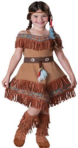 Girls Indian Maiden Kids Child Fancy Dress Party Halloween Costume