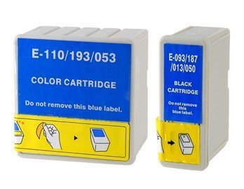 T050 / T053 6-Color Ink Jet Cartridge For Epson Stylus Disposable Photo700 / 720/750/1200/2000 / Ex / Ex2 / Ex3 (Grey)
