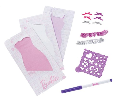 Barbie Design and Dress Studio Ruffler Refill Kit - 1