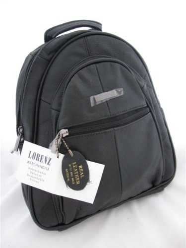 Lorenz Genuine Leather Front Pocket Rucksack 